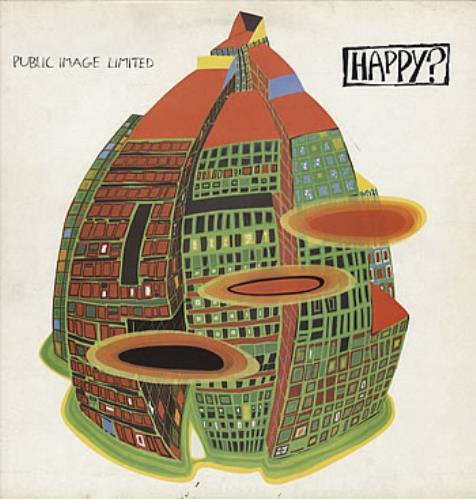 P.I.L. Happy? vinyl LP album (LP record) UK PILLPHA315663