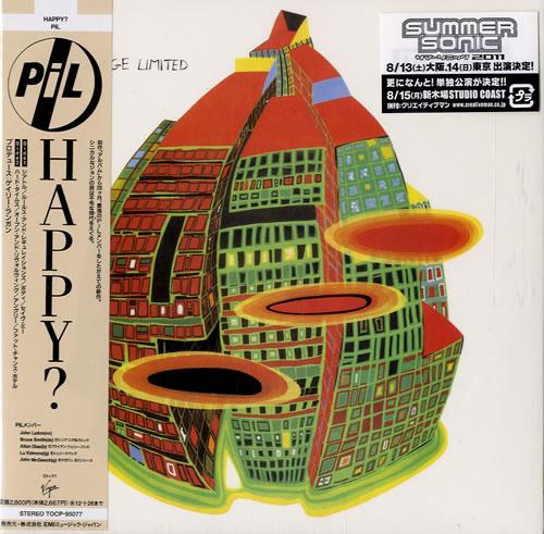 P.I.L. Happy? SHM CD Japanese PILHMHA546544