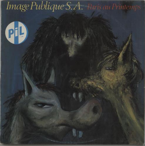 P.I.L. Paris Au Printemps vinyl LP album (LP record) New Zealand PILLPPA667090
