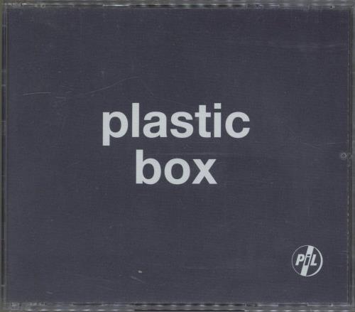 P.I.L. Plastic Box CD Album Box Set UK PILDXPL490386