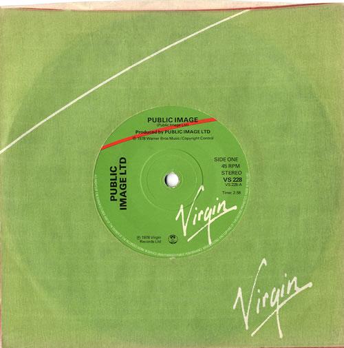 "P.I.L. Public Image - Solid 7"" vinyl single (7 inch record) UK PIL07PU558891"