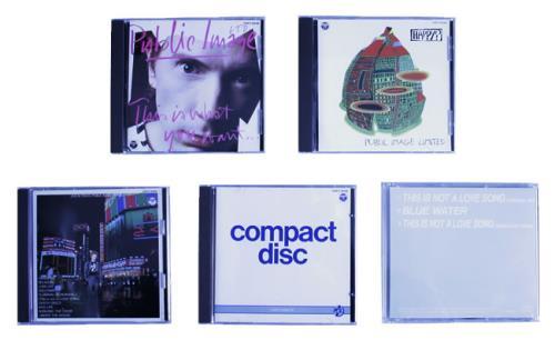 P.I.L. Public Image Limited 2 CD Album Box Set Japanese PILDXPU33132