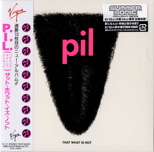 P.I.L. That What Is Not SHM CD Japanese PILHMTH546541