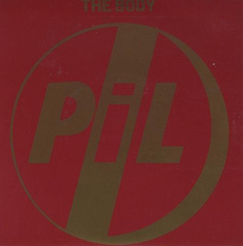 "P.I.L. The Body 7"" vinyl single (7 inch record) UK PIL07TH106326"