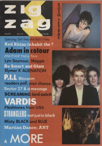 P.I.L. Zig Zag Magazine No. 112 magazine UK PILMAZI767635