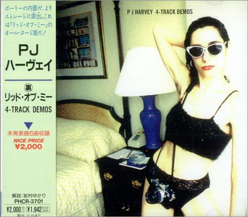 P.J. Harvey 4-track Demos CD album (CDLP) Japanese PJHCDTR118605