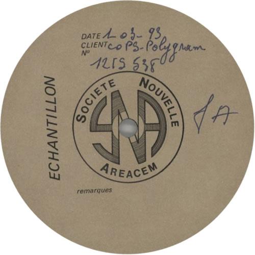"P.J. Harvey 50 Ft Queenie - Test Pressing 12"" vinyl single (12 inch record / Maxi-single) French PJH12FT616454"