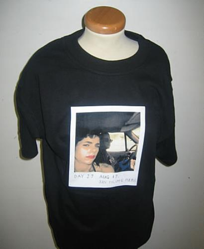05debc372 P.J. HARVEY Polaroid T-Shirt - Large (Australian Officially licensed 100%  cotton black t-shirt with the polaroid image from the cover of the 'Uh Huh  ...