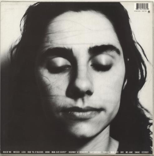 P.J. Harvey Rid Of Me vinyl LP album (LP record) UK PJHLPRI179608