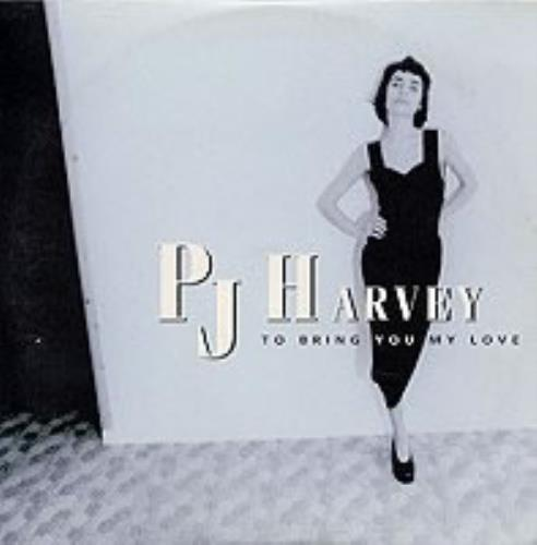 P J Harvey To Bring You My Love French Promo Cd Single