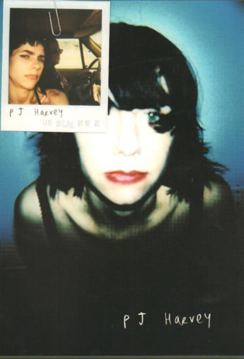P J Harvey Uh Huh Her Polaroid Amp Flyer Uk Promo