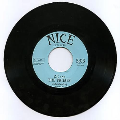 "P.P. & The Primes Understanding 7"" vinyl single (7 inch record) UK PP&07UN89232"