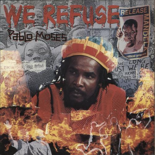 Pablo Moses We Refuse vinyl LP album (LP record) UK Q2CLPWE709561