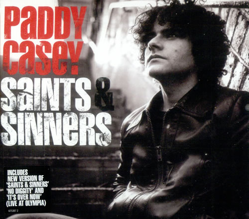 "Paddy Casey Saints & Sinners CD single (CD5 / 5"") UK PC-C5SA503283"