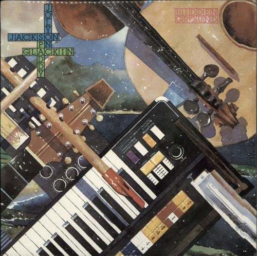 Paddy Glackin Hidden Ground vinyl LP album (LP record) Irish ZCULPHI716601