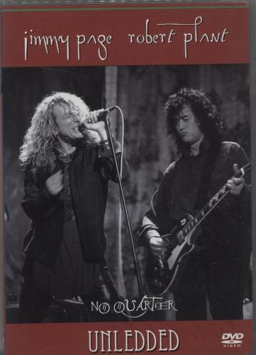 Page & Plant No Quarter Unledded DVD US P&PDDNO676992
