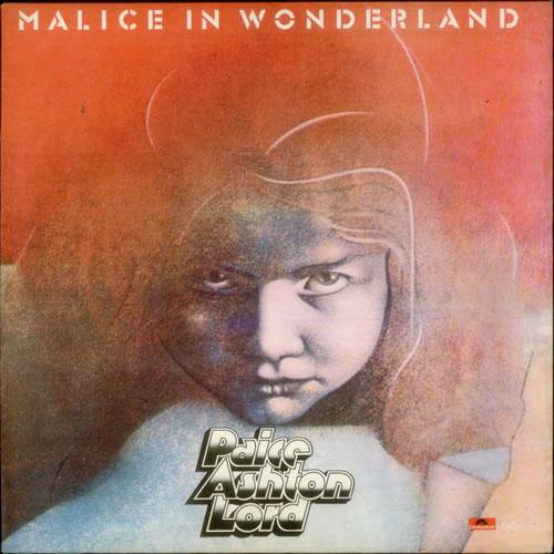 Paice Ashton Lord Malice In Wonderland - EX vinyl LP album (LP record) UK PADLPMA547621