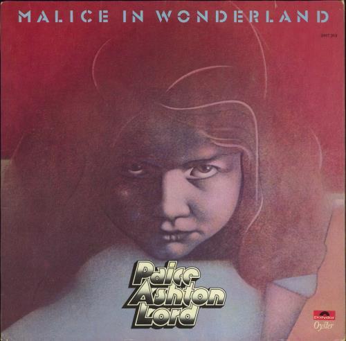 Paice Ashton Lord Malice In Wonderland vinyl LP album (LP record) German PADLPMA770967