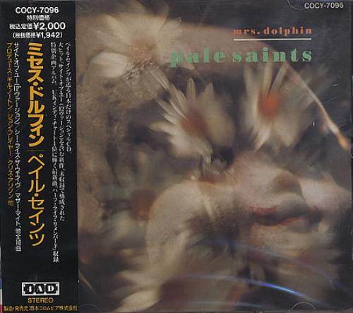 Pale Saints Mrs Dolphin CD album (CDLP) Japanese PALCDMR123077
