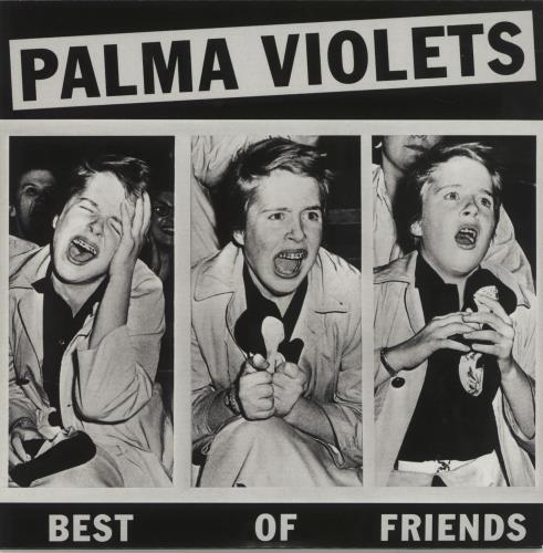 "Palma Violets Best Of Friends - Purple Vinyl 7"" vinyl single (7 inch record) UK P4Y07BE658182"