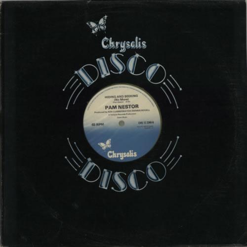 "Pam Nestor Hiding And Seeking (No More) - Green Vinyl 12"" vinyl single (12 inch record / Maxi-single) UK P7M12HI608457"