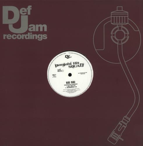 """Panjabi Hit Squad Hai Hai 12"""" vinyl single (12 inch record / Maxi-single) UK Q1912HA705453"""