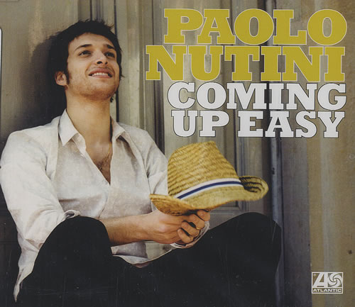 "Paolo Nutini Coming Up Easy CD single (CD5 / 5"") UK PNIC5CO487146"