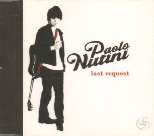 "Paolo Nutini Last Request CD single (CD5 / 5"") UK PNIC5LA657728"