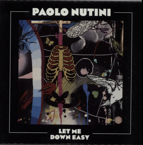 Paolo Nutini Let Me Down Easy CD-R acetate UK PNICRLE614117