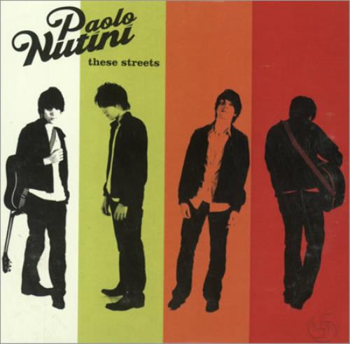 Paolo Nutini These Streets CD album (CDLP) US PNICDTH389597