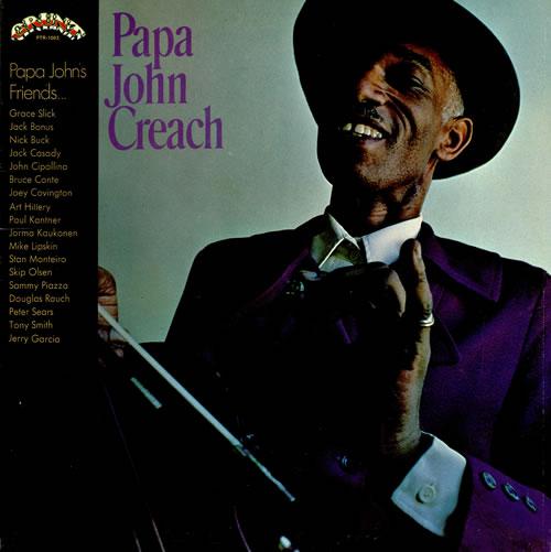 Papa John Creach Papa John Creach vinyl LP album (LP record) US PJCLPPA457456