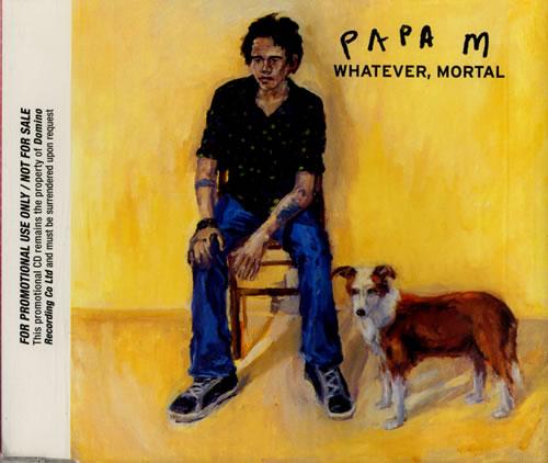 Papa M Whatever, Mortal CD album (CDLP) UK PAMCDWH579472