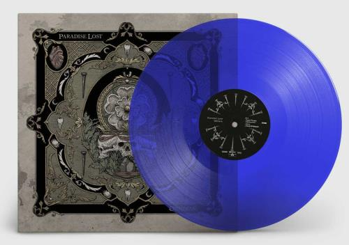 Paradise Lost Obsidian - Blue Vinyl vinyl LP album (LP record) UK P-LLPOB745374