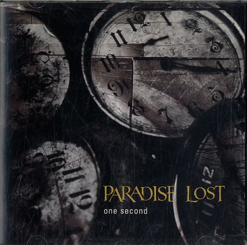 """Paradise Lost One Second CD single (CD5 / 5"""") UK P-LC5ON620064"""