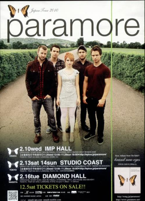 cd the best of paramore 2010