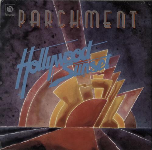 Parchment Hollywood Sunset vinyl LP album (LP record) UK P47LPHO585088