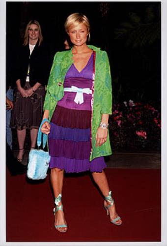 Paris Hilton Clive Davis Pre-Grammy Gala photograph UK 69RPHCL379380