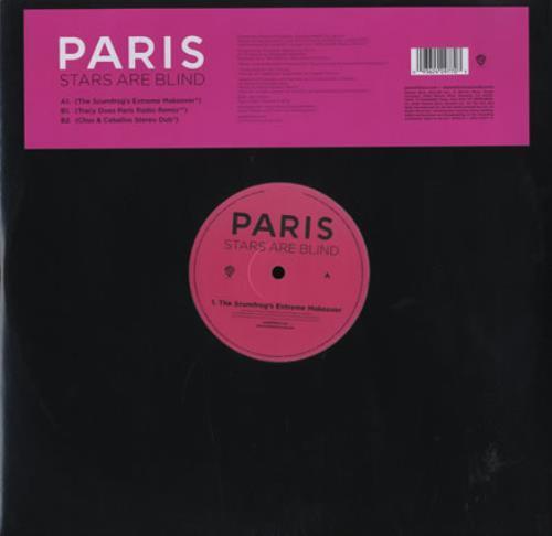 "Paris Hilton Stars Are Blind 12"" vinyl single (12 inch record / Maxi-single) UK 69R12ST367015"