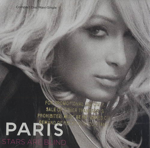 "Paris Hilton Stars Are Blind CD single (CD5 / 5"") US 69RC5ST465316"