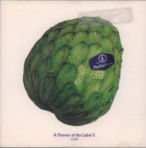 Parlophone A Flavour Of The Label 5 CD album (CDLP) UK P0XCDAF101592