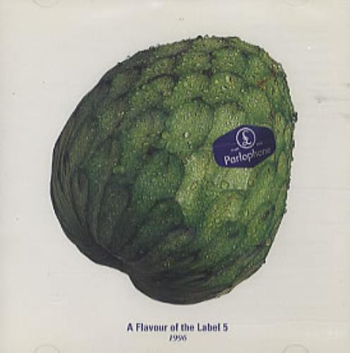 Parlophone A Flavour Of The Label 5 CD album (CDLP) UK P0XCDAF243975