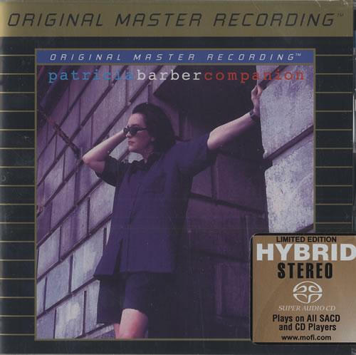 Patricia Barber Companion super audio CD SACD US P\BSACO446517