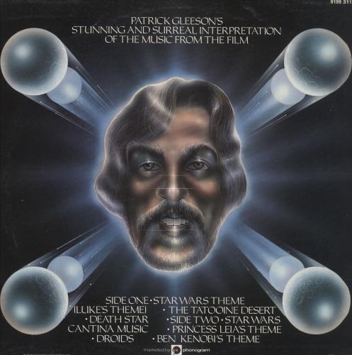 Patrick Gleeson Patrick Gleeson's Star Wars UK vinyl LP album (LP record)