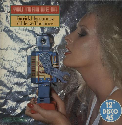 "Patrick Hernandez You Turn Me On 12"" vinyl single (12 inch record / Maxi-single) UK HR312YO578283"