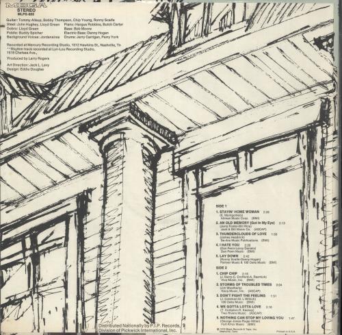 Patsy Sledd Chip Chip vinyl LP album (LP record) US ZVVLPCH720509