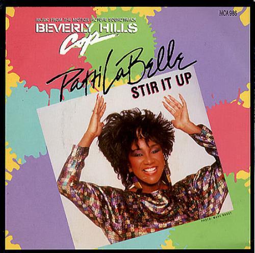 "Patti LaBelle Stir It Up 7"" vinyl single (7 inch record) UK LAB07ST347616"
