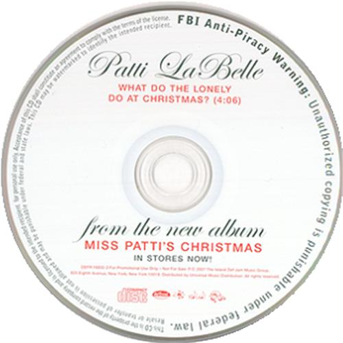 Patti Labelle This Christmas.Patti Labelle What Do The Lonely Do At Christmas Us Promo Cd Single Cd5 5