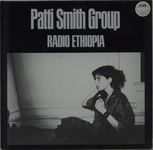 Patti Smith Radio Ethiopia vinyl LP album (LP record) German PTILPRA636865