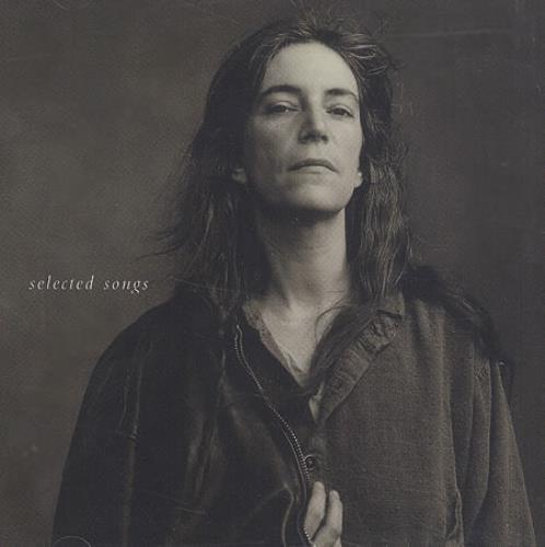 Patti Smith Selected Songs CD album (CDLP) US PTICDSE66539