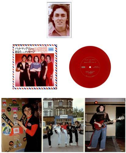 Pat McGlynn Pat McGlynn's Scotties + Flexi disc vinyl LP album (LP record) Japanese P.MLPPA508907